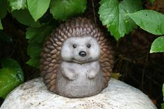 Outdoor Sculpture Hedgehog Statue  Cute Decor For by PhenomeGNOME, $49.99