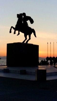 Thessaloniki Greece- Alexander the great - Makedonia. Alexandre Le Grand, Alexander The Great, Macedonia, Greece Thessaloniki, History, Places, Paradise, Destinations, Travel