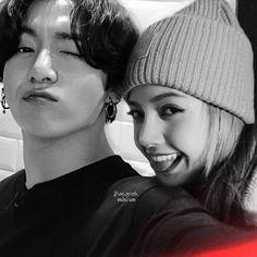 Cute Couple Images, Couples Images, Foto Jungkook, Foto Bts, Kpop Couples, Cute Couples, Romance, Bts Girl, Korean Couple