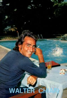 Italian actor Walter Chiari, autographed photo, 1970s (from blog post http://ambradambra.wordpress.com/2013/03/11/food-on-film-a-missed-opportunity/