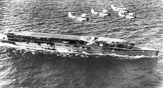 Aircraft carriers were used to build and launch fighter planes.