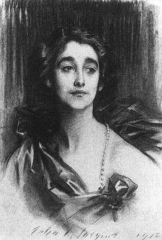 John Singer Sargent, Sybil Sasson, Countess of Rocksavage, 1912.