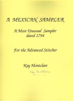 Mexican Sampler by Kay Montclare