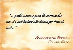 """Alessandro Baricco """"Oceano Mare"""""""