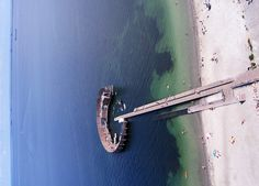 Kastrup Bathing Platform in Copenhagen (by KAP Cris) Floating Architecture, Water Architecture, Architecture Design, Environmental Architecture, Urban Landscape, Landscape Design, Am Meer, Built Environment, Urban Planning