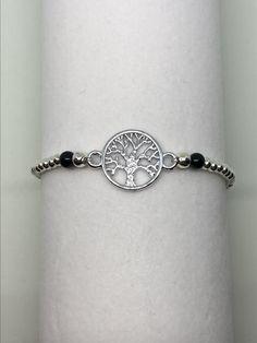 Modeschmuckarmband mit Lebensbaum Bracelets, Silver, Jewelry, Fashion, Feathers, Moda, Jewlery, Money, Bijoux