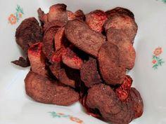 Cviklové čipsy, Iné recepty, recept   Naničmama.sk Stuffed Mushrooms, Vegetables, How To Make, Food, Life, Meal, Essen, Vegetable Recipes, Hoods