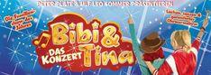 Nach 2 Musicaltourneen mit über 150.000 Zuschauern kehren Bibi & Tina mit ihren Freunden Holger, Alex und vielen anderen zurück auf die Bühne.  http://talker-lounge.de/bibi-und-tina-das-konzert/  #talkerlounge #hoerspiel #hörspiel #podcast #news #bibiundtina #eventim #konzert