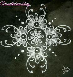 Rangoli Designs Latest, Rangoli Designs Flower, Rangoli Border Designs, Rangoli Patterns, Rangoli Ideas, Rangoli Designs Diwali, Rangoli Designs Images, Rangoli Designs With Dots, Flower Rangoli