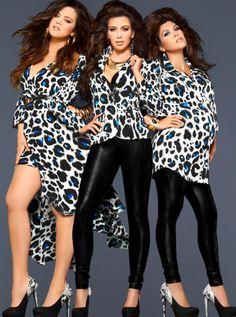 @KimKardashian, @KourtneyKardash & @KhloeKardashian look amzing in this new add for #KardashianKollection!