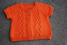 Ravelry: OlgaMurrru's Pumkin Baby Cardigan