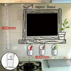 wanduhr wandtattoo mit ziffern und w rtern ideal f r das wohnzimmer schlafzimmer oder. Black Bedroom Furniture Sets. Home Design Ideas
