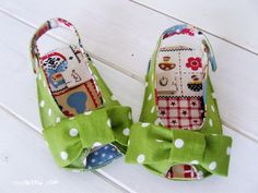 187 Anabelle Baby Sandals PDF Pattern. ~So feaking CUTE!~