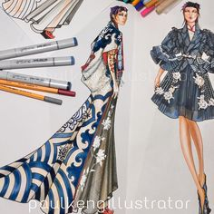 Discover recipes, home ideas, style inspiration and other ideas to try. Fashion Illustration Face, Illustration Mode, Fashion Illustrations, Fashion Design Drawings, Fashion Sketches, Patron Vintage, Fashion Figures, Fashion Sketchbook, Fashion Portfolio