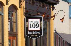 Tavern 109 Pub Sign