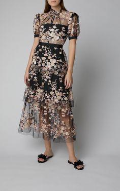 Aurelie One-Shoulder Satin Crepe Gown by Alex Perry Kpop Outfits, Dress Outfits, Fashion Dresses, Silk Floral Dress, Silk Dress, Organza, Frack, Feminine Dress, Women's Summer Fashion