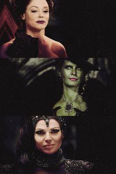 Family: Cora, Zelena, Regina