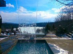 En amoureux en Estrie: Ski et spa au Balnéa