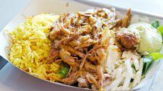 Pulled pork con riso e salsa all'avocado, ricette barbecue, carne di maiale