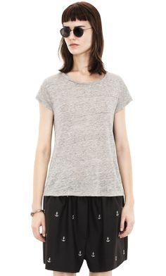 Copy Linen Grey Melange