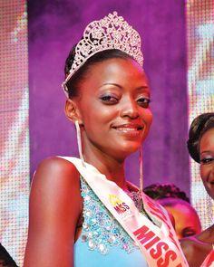 Miss Uganda, Stella Nantumbwe, for BBA 9