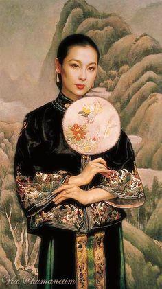 Geisha Kunst, Geisha Art, Art Asiatique, China Art, Street Art, Chinese Painting, Portraits, Figure Painting, Beautiful Paintings