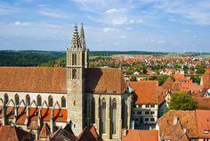 Rothenburg. Сказка о цветочном городе с красными крышами