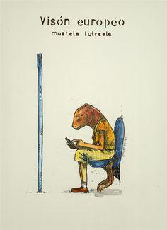 "Mikel Murillo, ""mímesis - vison europeo"""