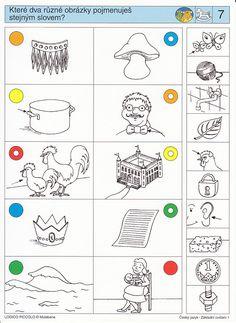 LOGICO PICCOLO | ČJ - Rozšíření slovní zásoby | Didaktické pomůcky a hračky - AMOSEK
