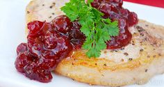 Ingredients: 4 to 6 pork chops Salt and pepper 1 tablespoon fresh thyme or 1 teaspoon dried thyme 2 tablespoons olive oil 1 to 1 ½ cups chicken stock 1 tablespoon Dijon mustard 1 can (14 ounces) whole berry cranberry sauce 2 tablespoons fresh chopped Italian parsley Directions: Season both sides of the pork chops …