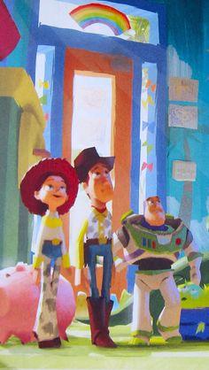 Arte Disney, Disney Magic, Disney Art, Disney Pixar, Disney Toys, Disney Movies, Disney Wallpaper, Iphone Wallpaper, Desenho Toy Story