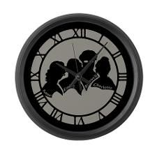 Bronte Silhouette Large Wall Clock