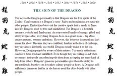 I think people are much more complex than astrological systems can accommodate, be it eastern, western, Chinese.or even other systems such as numerology. But I've gotta say, I really resonate with this (I was born in the metal dragon year). Chinese Zodiac Dragon, Dragon Zodiac, Chinese Astrology, Chinese Zodiac Signs, Zodiac Traits, Zodiac Horoscope, Pisces, Horoscopes, Dragon Quotes