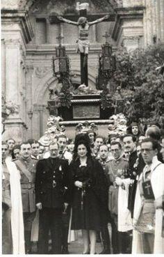 Imagen antigua Semana Santa de MÁLAGA