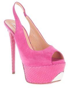 Gianmarco Lorenzi Python Skin Platform Sandals - Biondini - farfetch.com - StyleSays