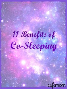 So many people get #8 so wrong! Repin if you co-sleep!