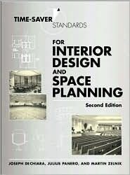 Time Saver Standards For Interior Design And Space Planning 0071346163 Joseph
