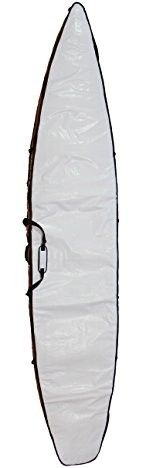 Stand On Liquid White, Coffin Style, Reflective, Stand Up Paddle Board (Surfing) Board Bag, Touring, In 12'6″ and 14'0″