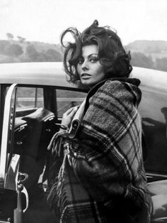 Sophia Loren is a wonderful, unique and sexy actress
