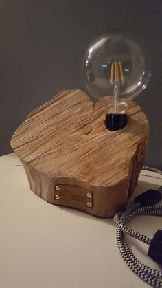 Woodlamp puurkees