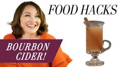 Mary Beth Albright's Food Hacks: Bourbon Cider! Cider Cocktails, Hot Toddy, Food Hacks, Bourbon, Campaign, Mary, Content, Lifestyle, Medium