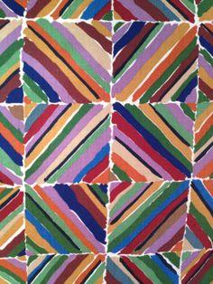 70s 80s Vintage Liberty Kasak Kazak Curtain Fabric Collier Campbell