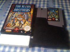 The Blues Brothers Juego para Nintendo NES PAL con Caja Versión Española