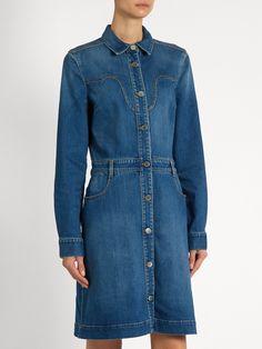 Western denim dress | Stella McCartney | MATCHESFASHION.COM UK
