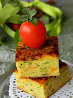 Appetizer Salads, Appetizer Recipes, Dessert Recipes, Baby Food Recipes, Cooking Recipes, Zucchini Bites, Romanian Food, How To Cook Eggs, Vegetarian Recipes