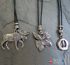 All About Moose Leather Necklaces by feifish on Etsy