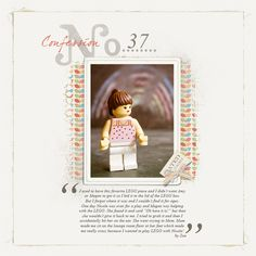 Confessions album by Esther  (Life in Pictures template album, Lynn Grieveson, Designer Digitals)