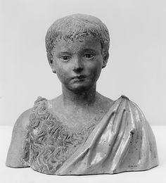 Giovanni della Robbia, Boy Saint John (Firenze, ca. 1500, Metropolitan Museum of Art, New York)