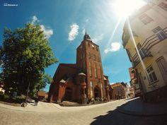 Kościół J.Chrzciciela W Biskupcu (fot. J. Nowakowski)