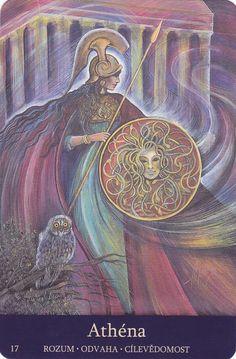 Athena in Goddesses of the New Light by Pamela Matthews